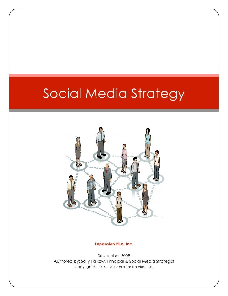 Social media Strategy - Expansion plus