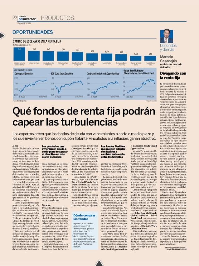 Qué fondos de renta fija podran capear las turbulencias
