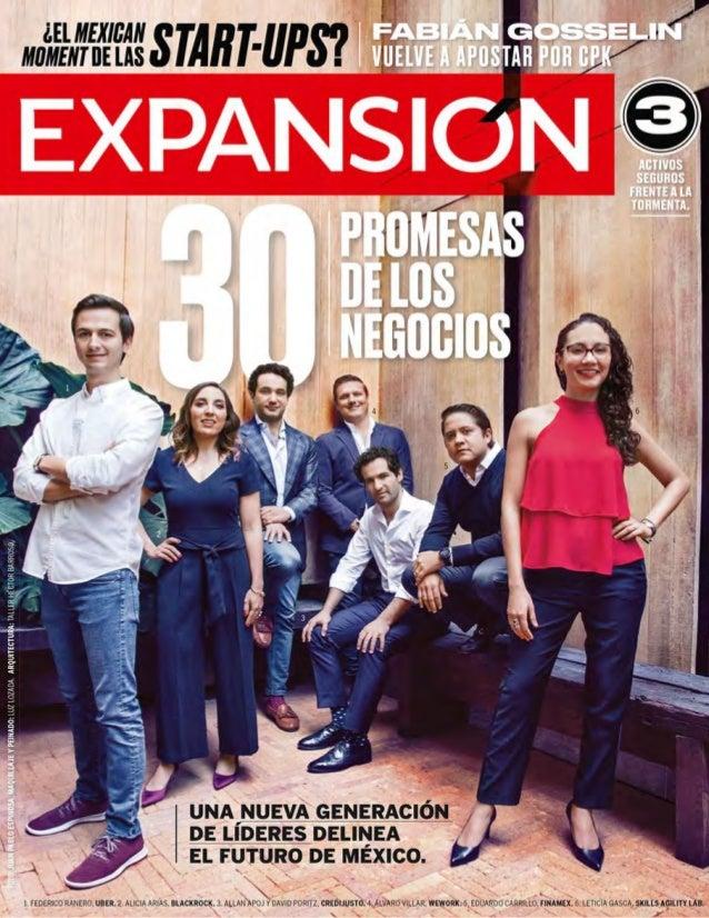 Las 30 promesas de los negocios en México