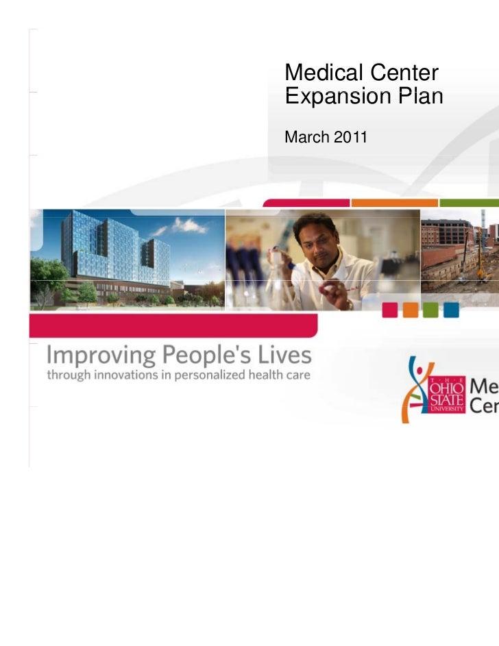 Medical CenterExpansion PlanMarch 2011