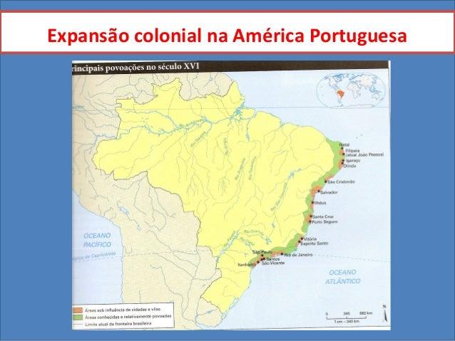 Expansão colonial na América Portuguesa