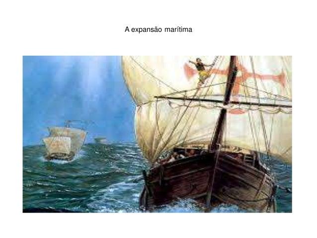 A expansão marítima