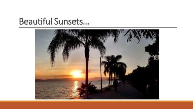 Beautiful Sunsets…