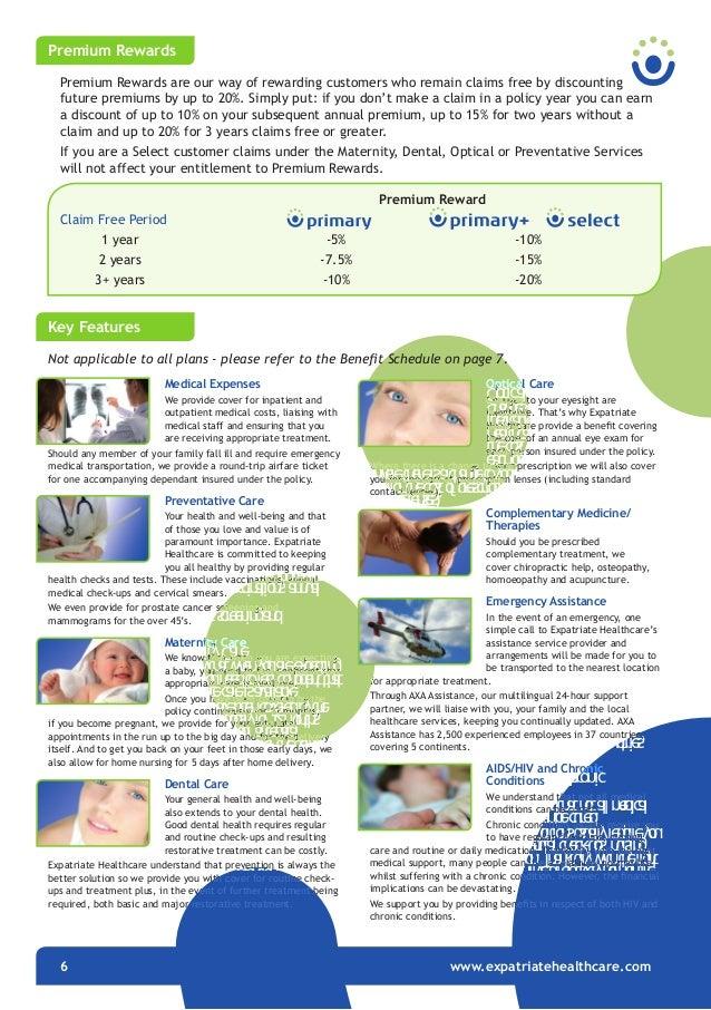 Expatriate Healthcare Brochure