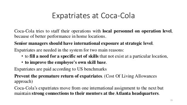 Coca Cola: International Marketing Mix
