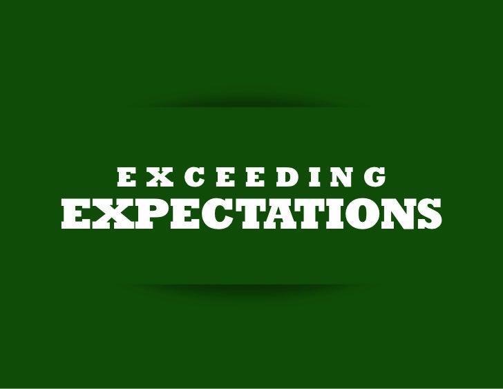 EXCEEDINGEXPECTATIONS