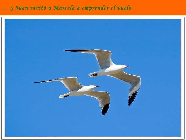 …  y Juan invitó a Marcela a emprender el vuelo