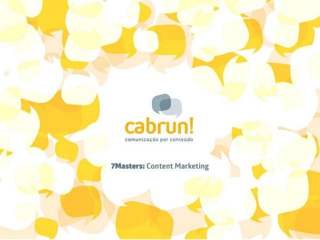 comunicação por conteúdo  ? Masters Content Marketing