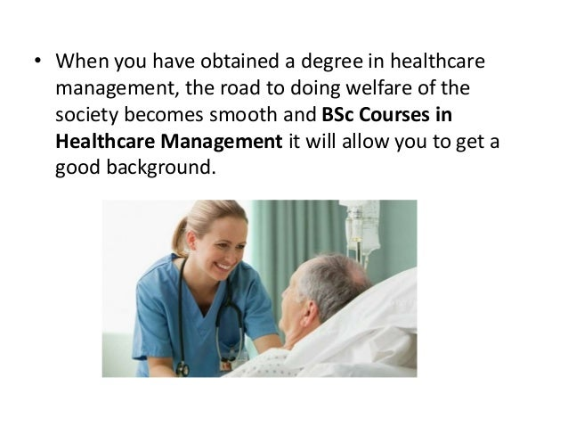 healthcare management degree