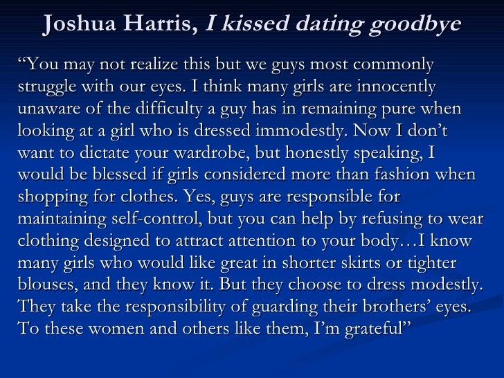 Joshua harris i kissed dating goodbye full pdf password 7