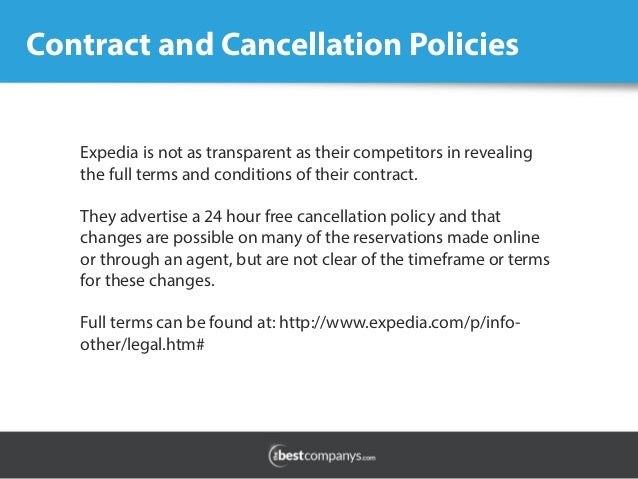 Booking Com Hotel Cancellation Policy