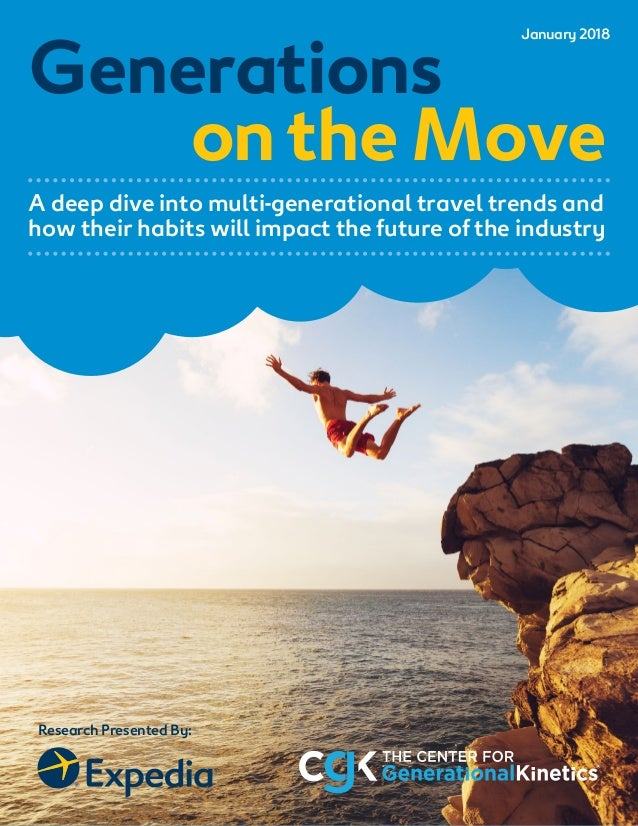 © 2018 Expedia and The Center for Generational Kinetics. All rights reserved. 1 Research Presented By: Generations ontheMo...