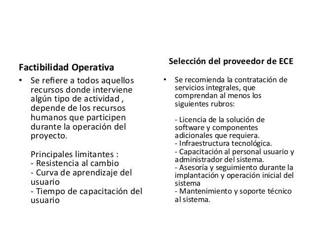 Proceso de Implementación • Se recomienda realizar una implantación progresiva durante un período de tiempo variable. • 1....