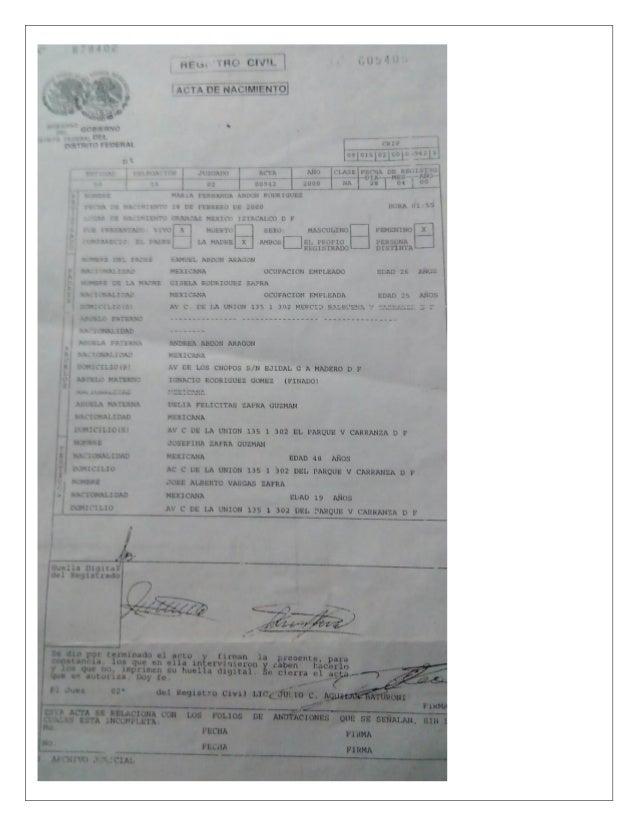 Magnífico Copia Del Certificado De Nacimiento Ga Galería - Cómo ...