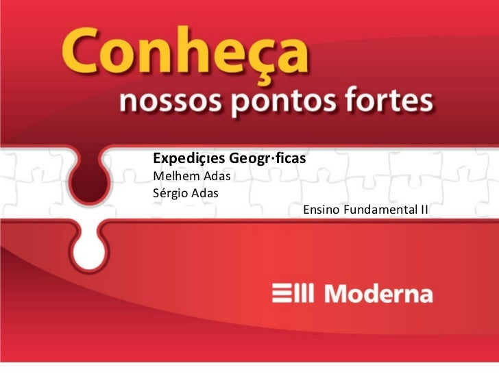 Expedições Geográficas Melhem Adas Sérgio Adas Ensino Fundamental II
