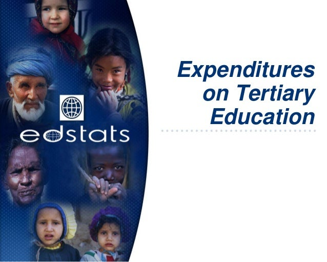 Expenditureson TertiaryEducation