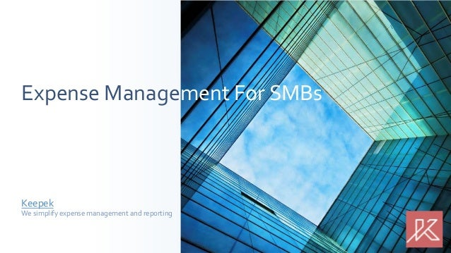 Expense Management For SMBs  Keepek  We simplify expense management and reporting