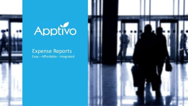 simple expense report software by apptivo