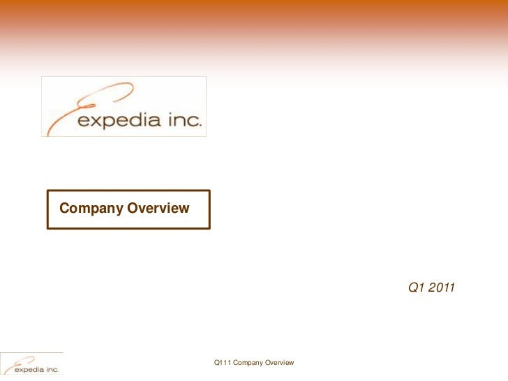 Company Overview                                           Q1 2011                   Q111 Company Overview