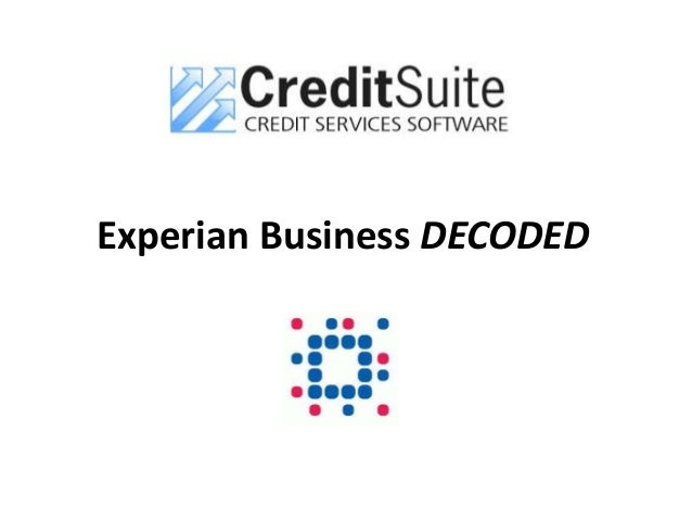 Experian and equifax business credit scoring reheart Choice Image