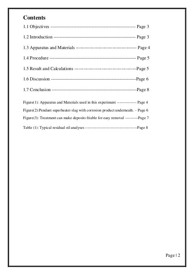 Page | 2 Contents 1.1 Objectives -------------------------------------------------------- Page 3 1.2 Introduction --------...