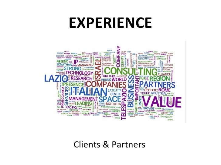 EXPERIENCE Clients & Partners