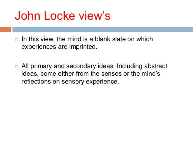 Locke and French materialism