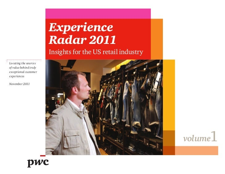 Experience                        Radar 2011                        Insights for the US retail industryLocating the source...