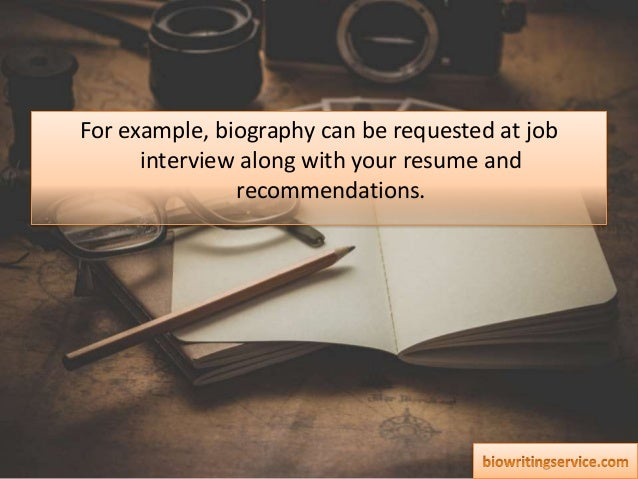Accountant Biography Writing Help: Experience and Reliable Tips in One Place Slide 3