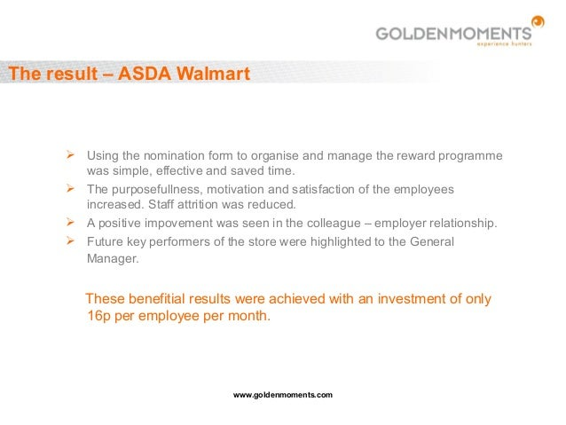 Experience hunters golden moments employee of the month reward