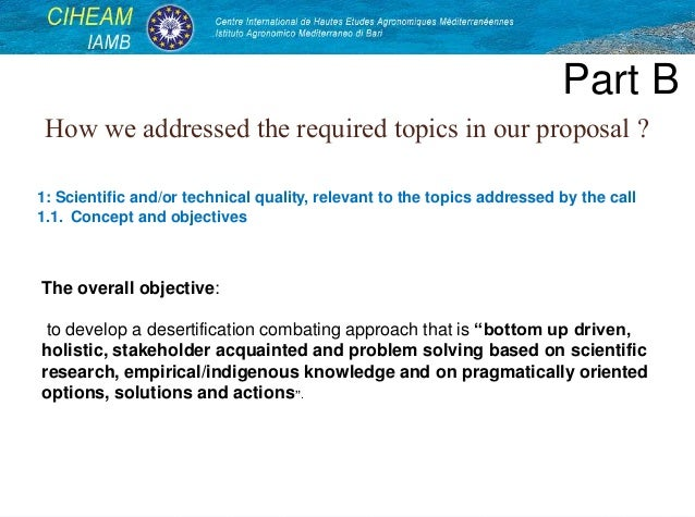 preparation of project proposal pdf
