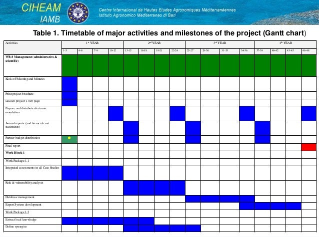 experience in project proposal preparation  submission and
