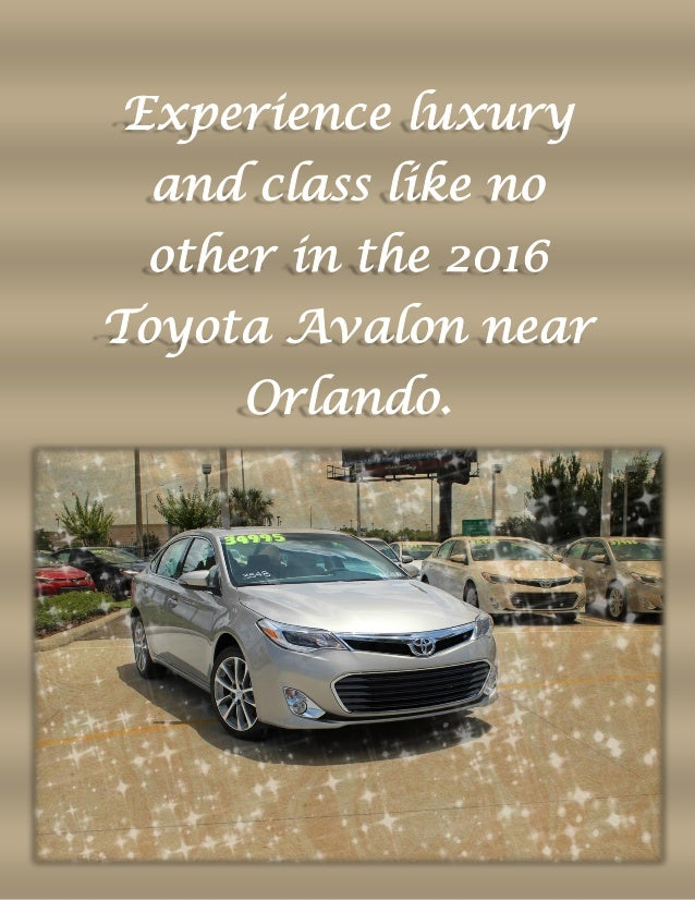 Experience Luxury And Class Like No Other In The 2016