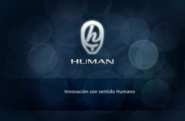 Innovación con sentido Humano<br />