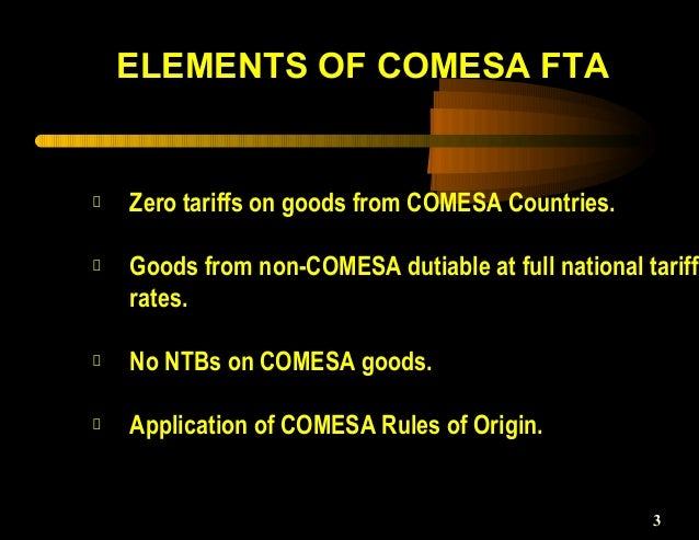 history of comesa About comesa the history of comesa began in december 1994 when it was formed to replace the former preferential trade area (pta) which had existed from the earlier.