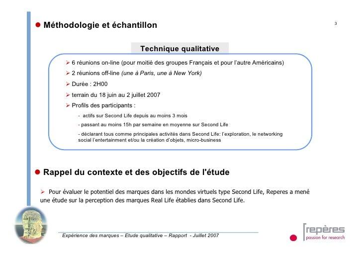  Méthodologie et échantillon                                                                                3            ...