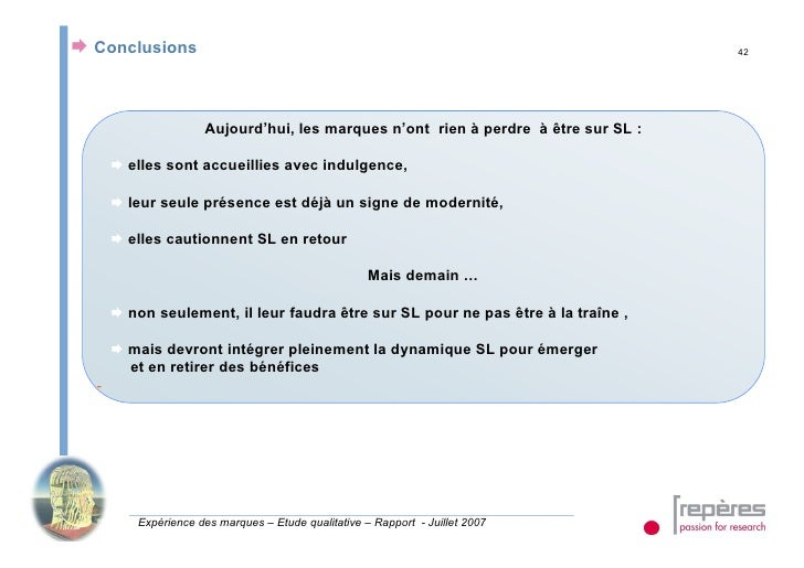 Conclusions                                                                       42                          Aujourd'hu...