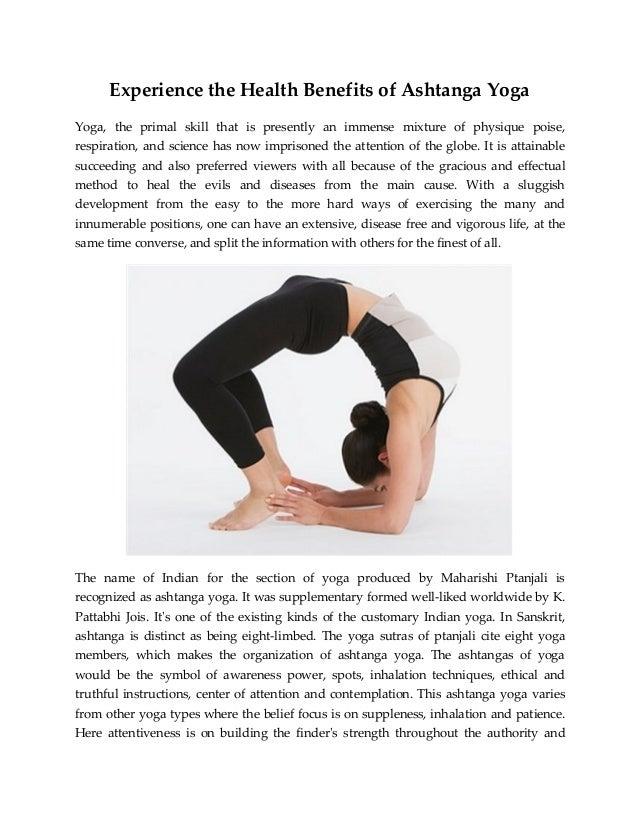 health benefits of yoga pdf