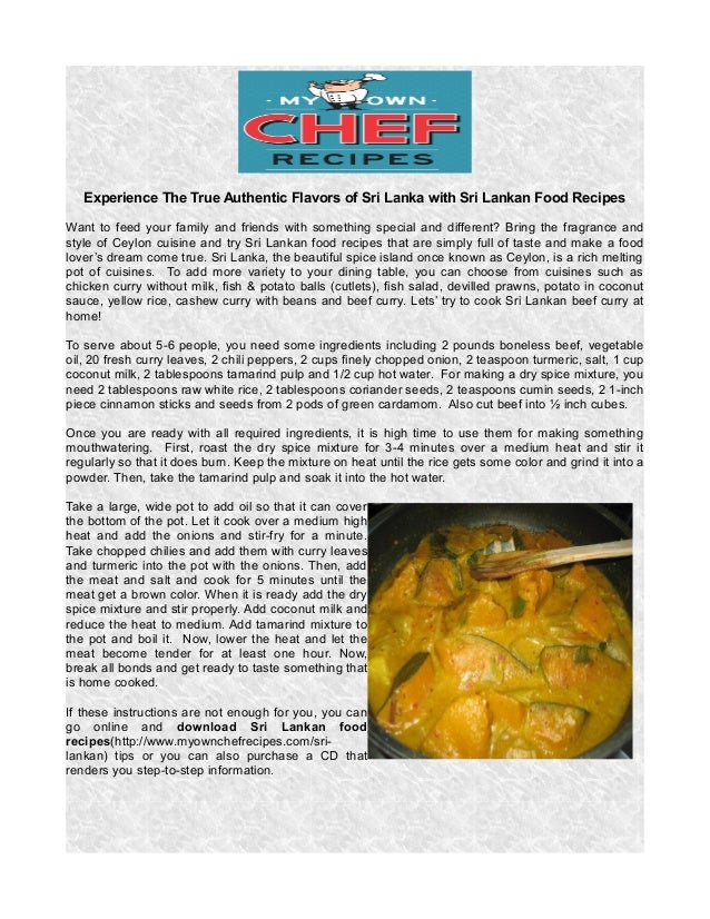 Experience the true authentic flavors of sri lanka with sri lankan fo experience the true authentic flavors of sri lanka with sri lankan food recipes want to feed forumfinder Image collections