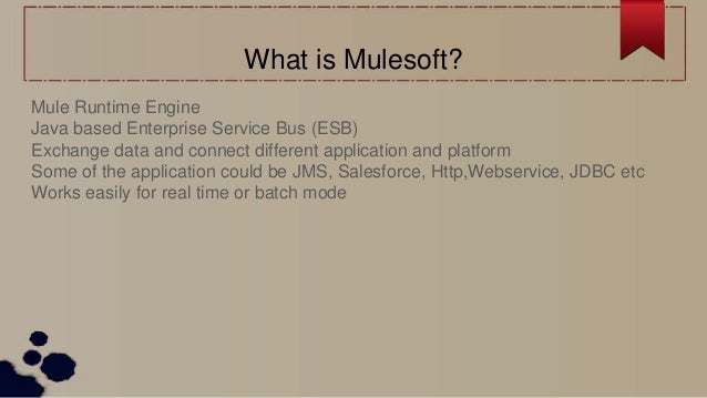 Experience with mulesoft