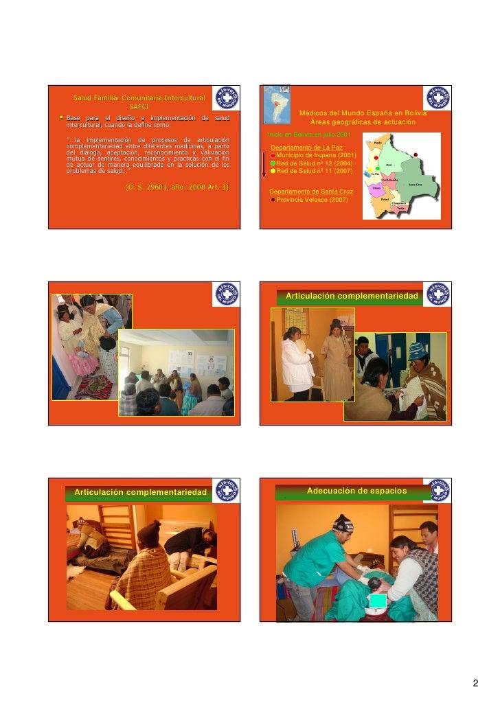 Salud intercultural: la interculturalidad institucionalizada (Bolivia) Slide 2
