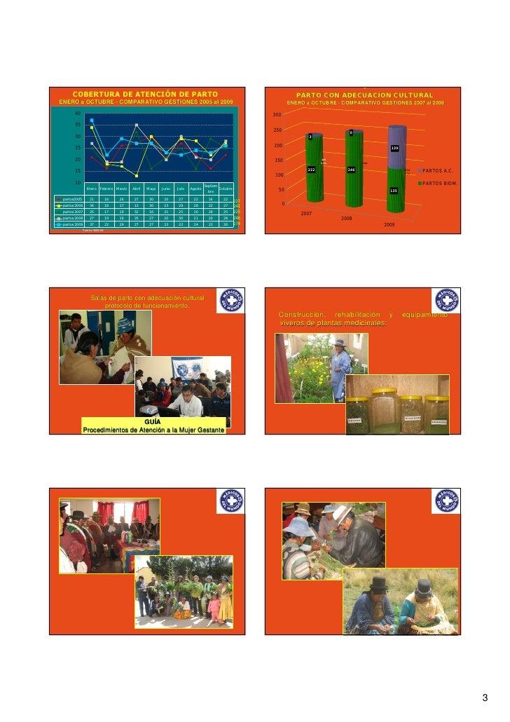 Salud intercultural: la interculturalidad institucionalizada (Bolivia) Slide 3