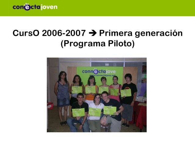 CursO 2006-2007  Primera generación          (Programa Piloto)