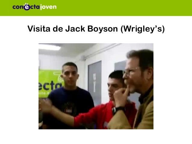 Visita de Jack Boyson (Wrigley's)