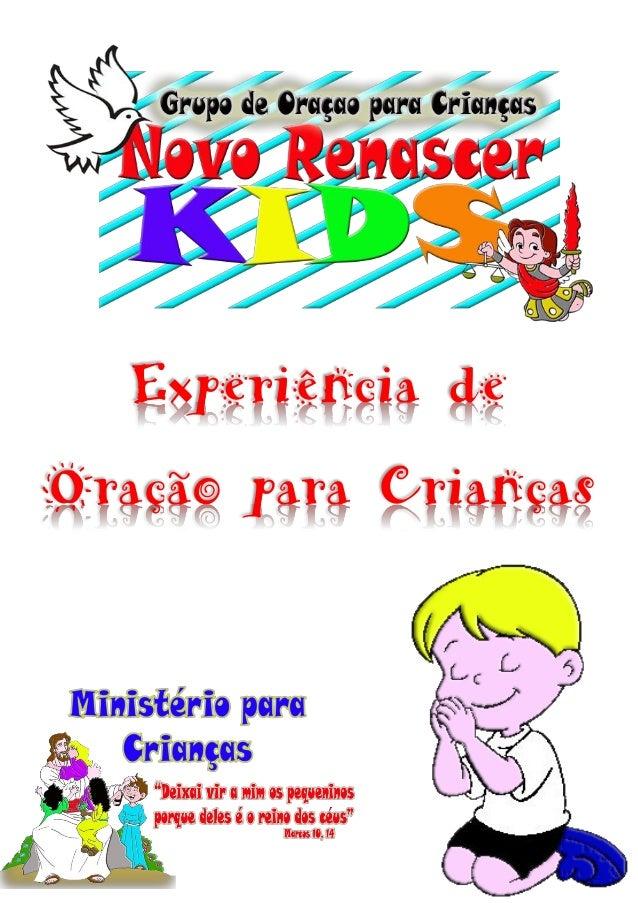 Experiência de Oração para Crianças