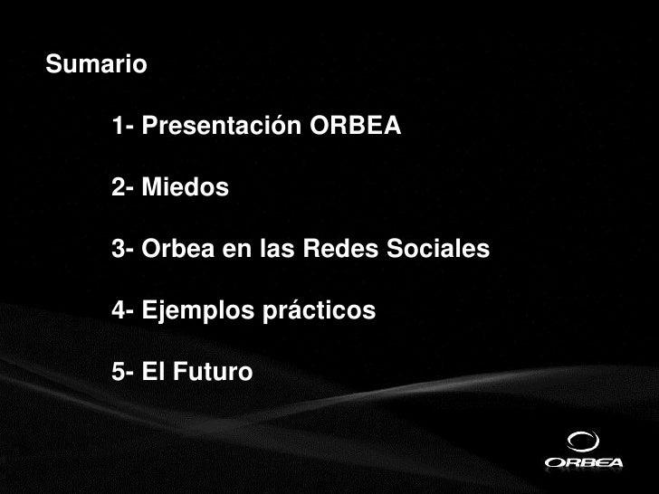 Indusmedia 2011: Experiencia de Orbea en el marketing digital Slide 2