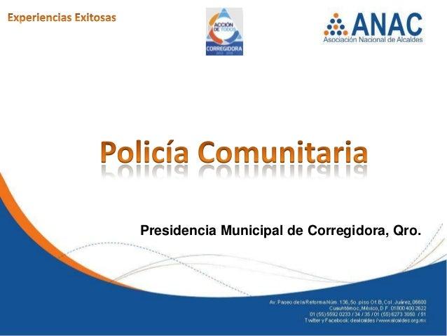Presidencia Municipal de Corregidora, Qro.