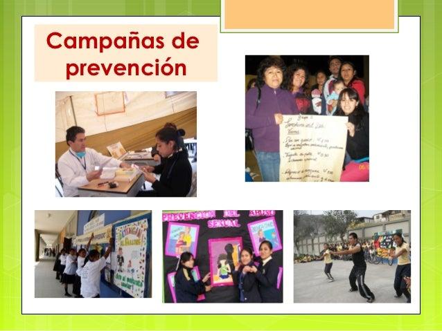 Campañas de prevención