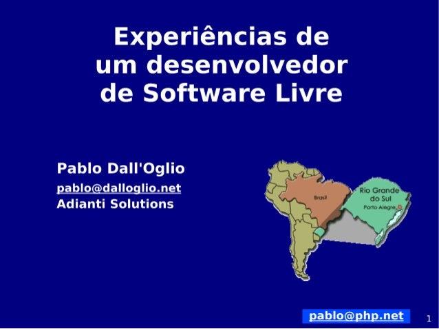 Propósitos ●  DivagarumpoucosobreahistóriadoUnix/Linux;  ●  FalarsobreoconceitodeSoftwareLivre;  ●  Mostrara...