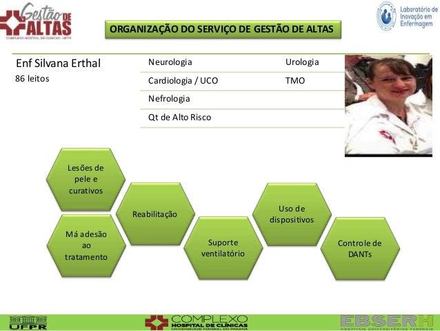 Suporte ventilatório Má adesão ao tratamento Controle de DANTs Lesões de pele e curativos Reabilitação Uso de dispositivos...